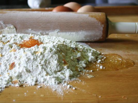 Mercato di Bologna e la pasta