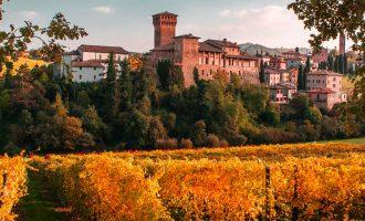 Tour sulle bellissime Colline di Castelvetro di Modena tra Castelli e Vigneti